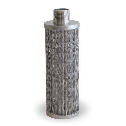 plizované filtry